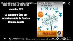 """""""Le bonheur d'être soi"""" : Interview audio de l'auteur Moussa Nabati"""